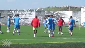تمرین تیم ملی فوتبال ایران بعد از بازی با آرژانتین