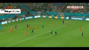 ساحل عاج ۲ - ۱ ژاپن