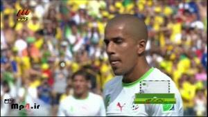 بلژیک ۲ - ۱ الجزیره