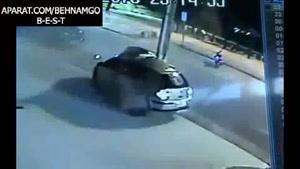 فجیع ترین تصادف در خیابان