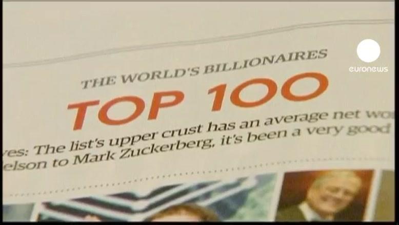 نام ثروتمندترین افراد جهان