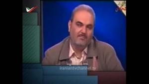 سوتی خنده دار جواد خیابانی در گزارش زنده