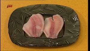 طرز تهیه سوفله ماهی با قارچ
