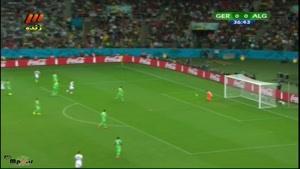 آلمان ۲ - ۱ الجزایر