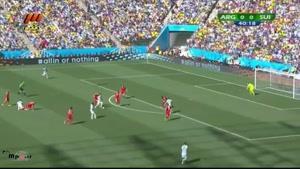 آرژانتین ۱ - سوئیس ۰