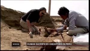 کشف بقایای اسکلت قربانیان مراسم مذهبی