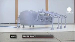 روبات عنکبوتی برای پاکسازی میادین مین