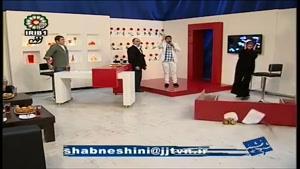 سوتی آزاده نامداری در برنامه زنده