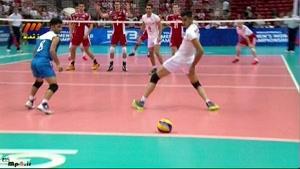 ایران ۰ - لهستان ۳ ست اول