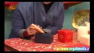 نقاشی روی شمع