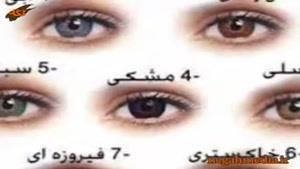 رنگ چشم و شخصیت شناسی