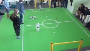 ربات های فوتبالیست
