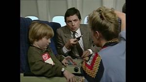فیلم کمدی مستربین - هواپیما