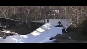 کلیپ اسکیت رو برف