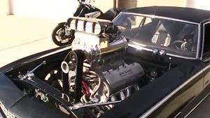آمریکایی پرقدرت با سوپرشارژ چهار دهنه