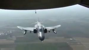 فیلمی از لحظه سقوط هواپیمای توپولوف