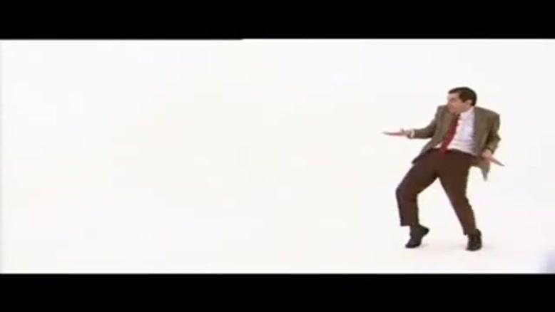 رقص مستر بین ۲ :))