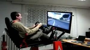 شییه سازی برای رانندگی بازی کامپیوتری