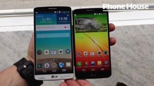 مقایسه LG G۳ با LG G۲