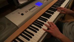 پیانو آهنگ غمگین