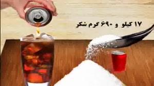 ایرانی ها ۴برابرمردم جهان نوشابه میخورند
