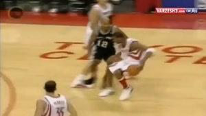 بسکتبال - ۳۵ امتیاز در ۱۳ ثانیه