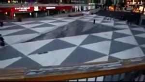 نقاشی شگفت انگیز ۳D در خیابان