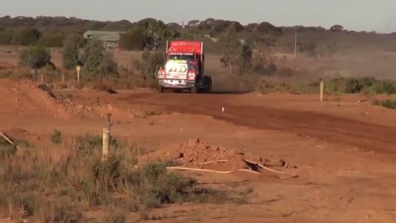 پرش با کامیون