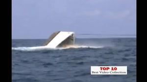 ۱۰ حادثه ی کشتی رانی در دنیا