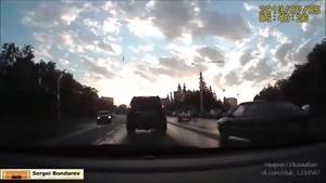 شکار تصادف ماشین با دوربین - راننده های بد قسمت ۴