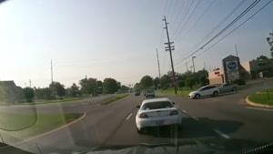 شکار تصادف ماشین با دوربین - راننده های بد ۱