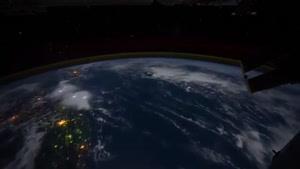 نمایی از کره ی زمین