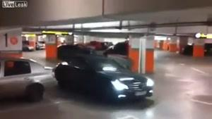 روش جديد پارک کردن بنز