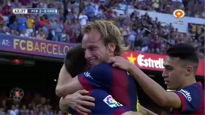 بارسلونا ۶-۰ گرانادا