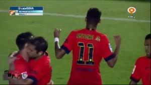 بارسلونا ۵-۰ لوانته