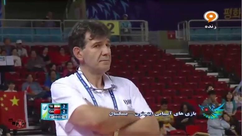 بازیهای آسیایی - بسکتبال ایران - چین