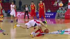 بازی های آسیایی - بسکتبال ایران ۷۵ - ۶۵ چین