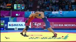 بازی های آسیایی - کشتی فرنگی - ایران - قزاقستان