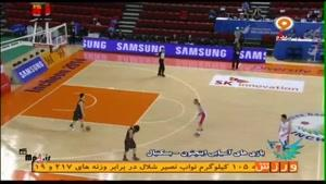 بسکتبال ایران ۸۲ - ۵۹ ژاپن - کوارتر اول