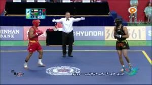 بازی های آسیایی - مسابقه ووشو سجاد عباسی