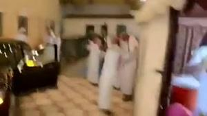 خوشحالی شیخ های عرب