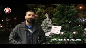 حال و هوای کریسمس در خیابانهای ارامنه نشین تهران