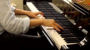 نواختن آهنگ ارباب حلقه ها با پیانو