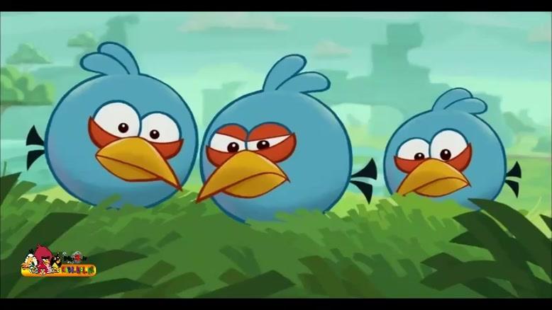 پرندگان خشمگین - آبی واقعی