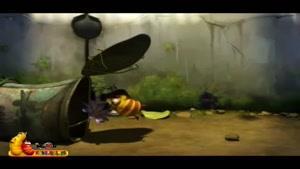 کارتون لاروا -این قسمت زنبور عسل
