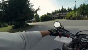 موتور سواری باورنکردنی در جنگل