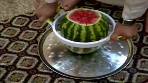 روش نوین قاچ هندوانه