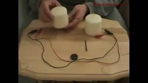 ساخت برق با شمع