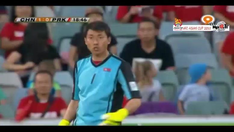 چین ۲-۱ کره شمالی