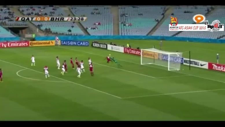 قطر ۱-۲ بحرین